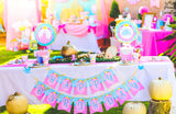 PRINCESS Party- Princess Birthday- DRINK BANNER- DRINK BUNTING