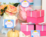 PRINCESS- CANDY- BLUE - BRIDAL SHOWER- Birthday Party