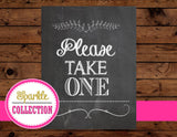 Bridal Shower SIGN- CHALKBOARD Sign- Bridal Chalk