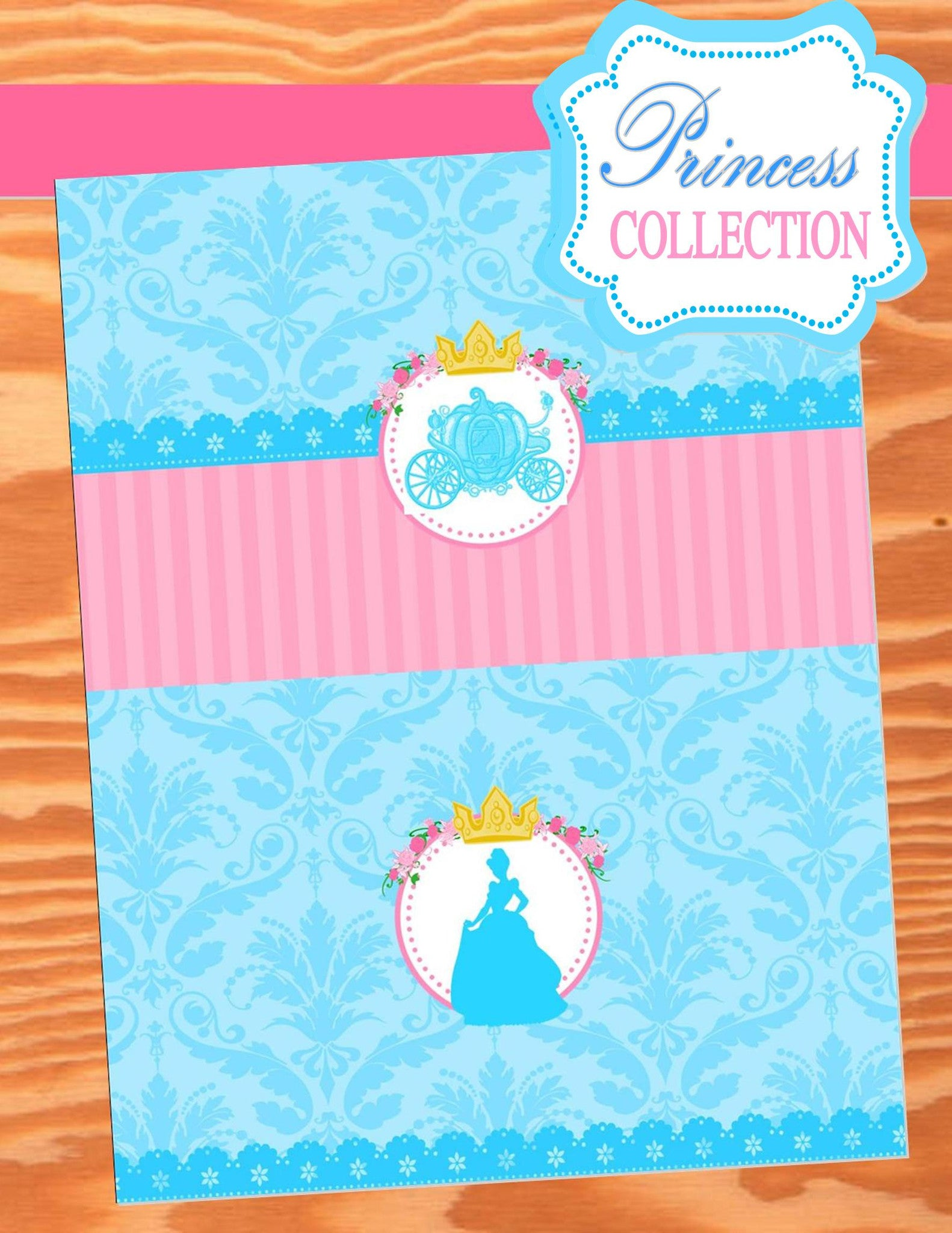 PRINCESS Birthday Party - Princess Party - FAVOR BAG