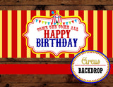 CIRCUS Party- Carnival Party- Circus BACKDROP- Circus Photo Booth