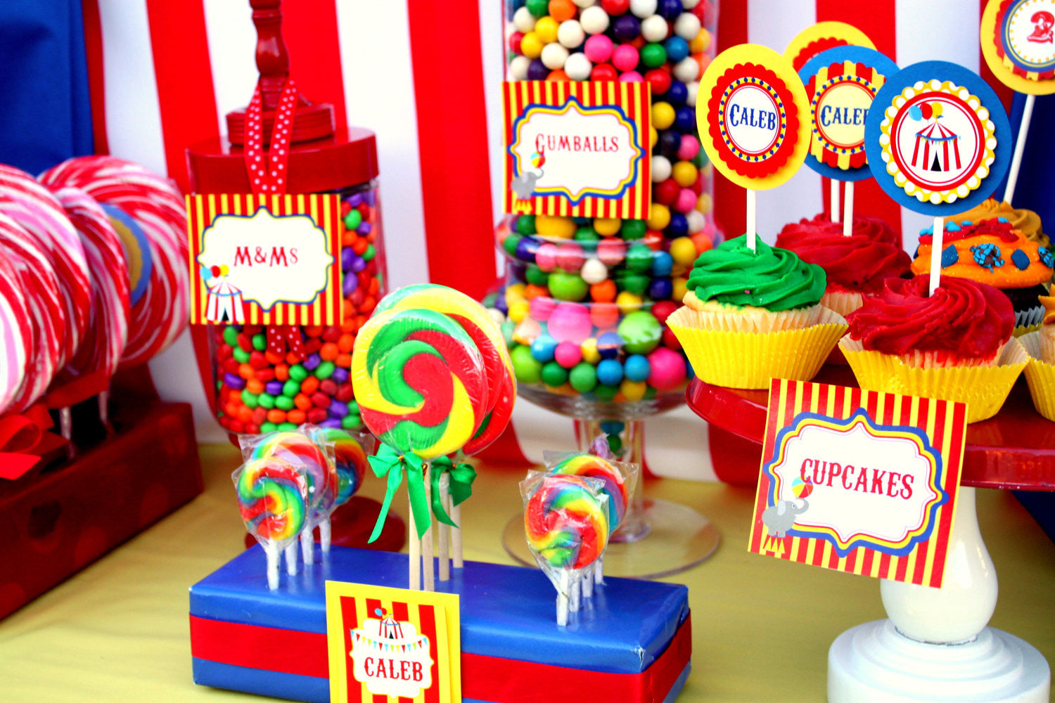 Circus Party Circus Birthday Party Carnival Party Circus Complete