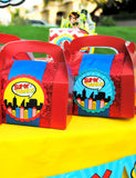 COMIC Party- Superhero Birthday- Comic FOOD LABELS- Comic Book Party- Superhero Party