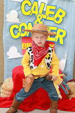 TOY Party- Cowboy NAPKIN- COWBOY Birthday- Cowprint Cowboy