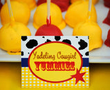 COWGIRL Birthday- Horse Party- Cowboy Party- Food LABELS- Cowgirl Party