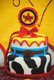 COWPRINT COWGIRL Party- Horse- Cowgirl Birthday - Cowgirl Party - Rodeo