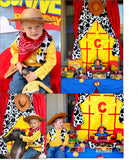 TOY Party - TOPPERS- COWBOY Birthday- Story Book