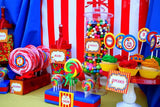 CIRCUS Birthday Party- Circus BANNER- Carnival Bunting- Circus Party