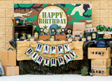 ARMY Party - Camo Birthday - Military Party - Call of Duty - Army Birthday - Army BACKDROP  - Camo Printables - Navy - Air Force - Nerf Party - Boy Birthday - Gun Party - Boy Party Idea