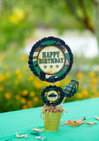 ARMY Party - Camo Birthday - Military Party - Call of Duty - Army Birthday - Army CIRCLE BURSTS  - Camo Printables - Navy - Air Force - Nerf Party - Boy Birthday - Gun Party - Boy Party Idea