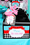PARIS Party- AMERICAN in PARIS- Girl Party- Baking Party- Gracie- Doll Party- Cupcake- Baking- Poodle- FOOD LABELS