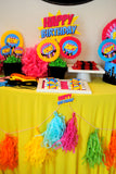 SUPERHERO Party- COMIC BOOK Party- SuperGIRL Birthday -Supergirl Party - Superhero Party
