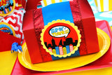 SUPERHERO Party- COMIC Party- Superhero Birthday- Superhero Birthday Party- FAVOR BAG TOPPERS