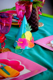 FLAMINGO Birthday Party- Hawaiian Luau- Luau- Flamingo WREATH