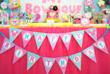 Bowtique Party- PINK MOUSE Birthday Party- Bowtique FAVOR BOX LABELS- Mouse Party