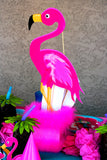 FLAMINGO Party- LUAU BANNER - Hawaiian Luau- Pool Party - Flamingo Birthday Banner