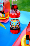 SUPERHERO Party- COMIC HERO Party- Superhero Birthday- BURSTS- Superhero Birthday Party