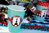 PARIS Party- AMERICAN in PARIS- Girl Party- Baking Party- Gracie- Doll Party- Cupcake- Baking- Poodle- FAVOR BAG Labels