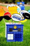 POLICE Party- POLICE CAR- Police Office Party-Policeman