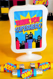 SUPERHERO Party- COMIC BOOK Party- SuperGIRL Birthday- Superhero - Supergirl Complete