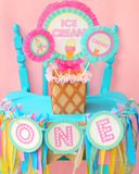 Ice Cream Party - ICE CREAM Printables - Ice Cream - Sweet Shop - Ice Cream Shoppe - ICE CREAM Birthday - First Birthday - ICECREAM - Ice Cream Cupcake Toppers
