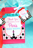 PARIS Party- AMERICAN in PARIS- Girl Party- Baking Party- Gracie- Doll Party-Cupcake- Baking- Poodle- THANK YOU SIGN