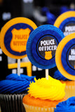 POLICE Party - Police COMPLETE- Police Officer Party - Police Birthday - Boy Birthday Party
