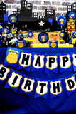 POLICE Party - Policeman Birthday - Police Officer - COMPLETE