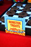 MONSTER Truck - Monster Truck THANK YOU CARD - Monster Truck Party