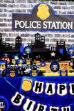 POLICE Party- Policeman Birthday- Patrol- Police LINE UP