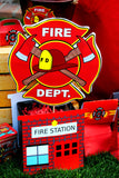 FIRE FIGHTER HOUSE- PROPS- FIREMAN Party- Fire Truck- Fire House- Fire Station