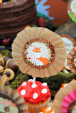 WOODLAND Party - Woodland - Fox Party- Woodland TOPPERS