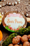 WOODLAND Party- Woodland Baby Shower- Fox Party - LABEL