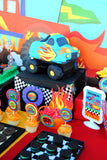 MONSTER TRUCK Party - Monster Truck BACKDROP- Monster Jam - Truck Party - Race Car Party