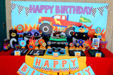 MONSTER Truck - Monster Truck THANK YOU CARD - Racing