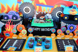 MONSTER Truck - Truck Birthday - Monster Truck INVITATION