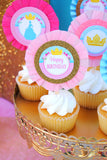 PRINCESS- Princess Party- PRINCESS CUPCAKE TOPPERS