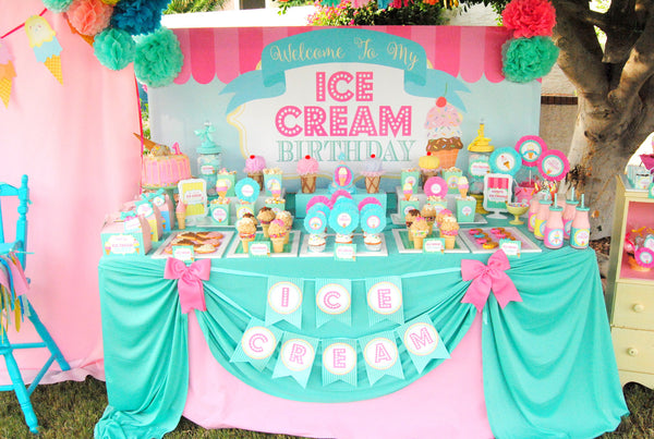 ICE CREAM Party - Ice Cream Printables - Ice Cream - Sweet Shop - Ice Cream Shop - ICE CREAM COMPLETE COLLECTION - Ice Cream Birthday