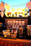 MOVIE Theater Party- Cinema Party- Hollywood PARTY - Movie - COFFEE BAR BANNER