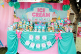 CE CREAM Party - Ice Cream Printables - Ice Cream BACKDROP - Sweet Shop - Ice Cream Shop - Ice Cream Birthday