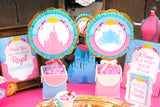 PRINCESS Party- Princess SIGNS- Princess Birthday Party- Pink Princess