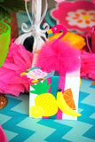 FLAMINGO Party- Flamingo Birthday - Luau Party- Pineapple THANK YOU TAGS- FLAMINGOS