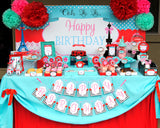 PARIS Party- AMERICAN in PARIS- Girl Party- Baking Party- Gracie- Doll Party- Cupcake- Baking - Poodle- COMPLETE