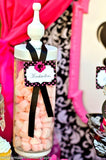 FASHION DIVA Party - Diva Party Printables - Glamour Girl Party - Fashion Party - Runway Party - Vintage Doll