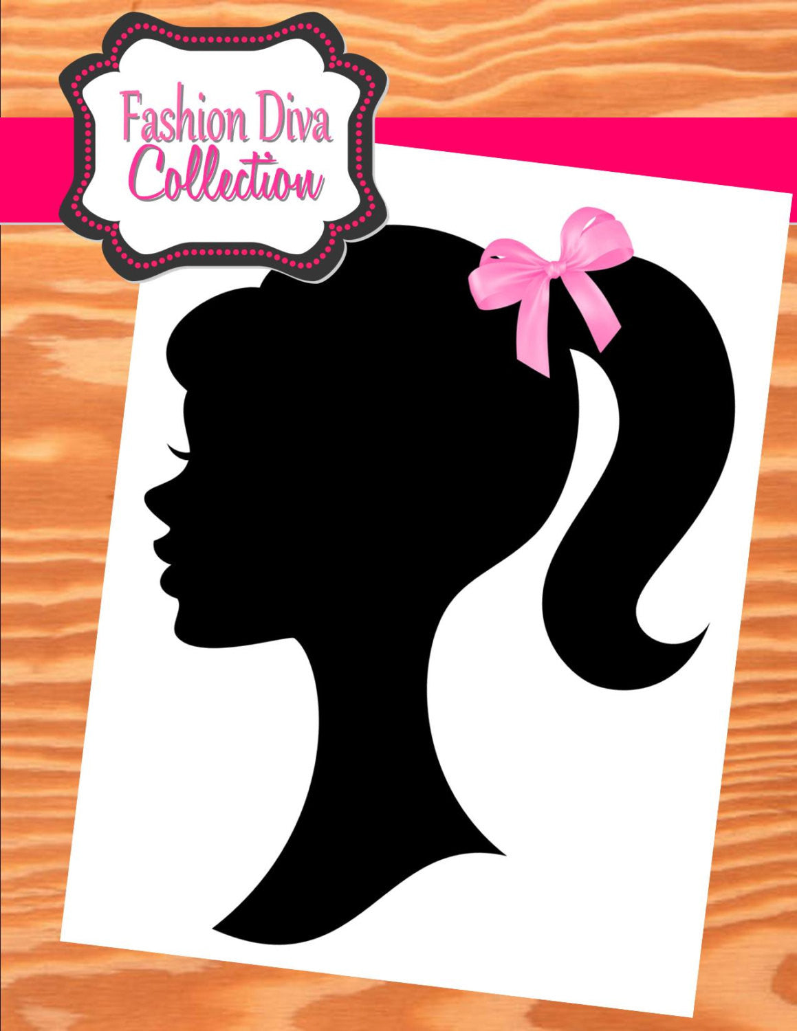 Fashion Diva Party Diva Party Printables Silhouette Krown