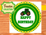 TRACTOR Party- Green TRACTOR Party- Farm Party- Tractor Birthday