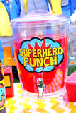 SUPERHERO Party - Superhero PUNCH SIGNS - Superhero Birthday - Comic Party - Superhero
