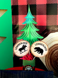 Lumberjack Party - Mountain Man Birthday - Lumberjack Birthday - Plaid - Beard -Boy Party Printables - Christmas Party