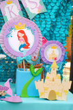 Mermaid Birthday - Mermaid COMPLETE - Princess Party - Mermaid Party- Mermaid Printables - INSTANT DOWNLOAD