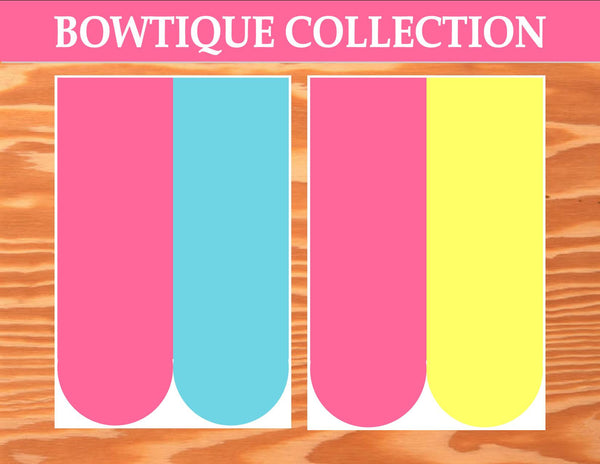 Bowtique Party- PINK MOUSE Birthday Party- Bowtique- VALANCES- Mouse Party- Sweet Shoppe